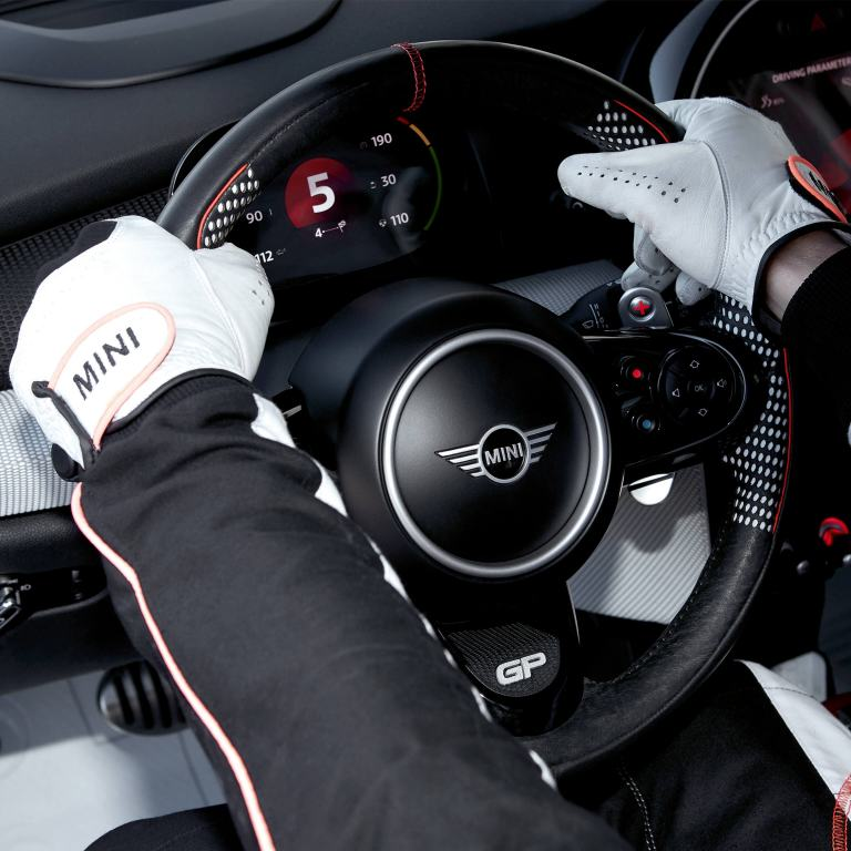 MINI John Cooper Works GP Concept – steering wheel