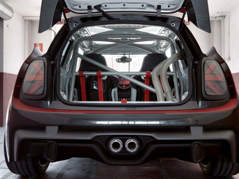 MINI John Cooper Works GP Concept – rear view/tail light